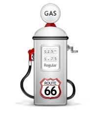MyMileMarker Gas Pump Graphic