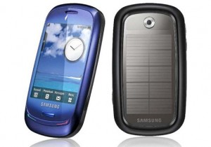 Samsung Blue Earth Phone