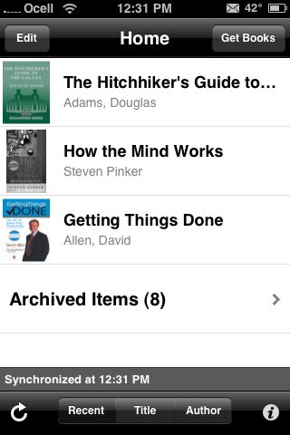 how to download kindle books onto iphone