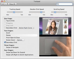 OS X Trackpad Gestures