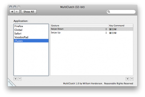 Multiclutch Preferences Pane